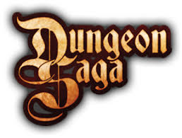 Dungeon Saga - Logo